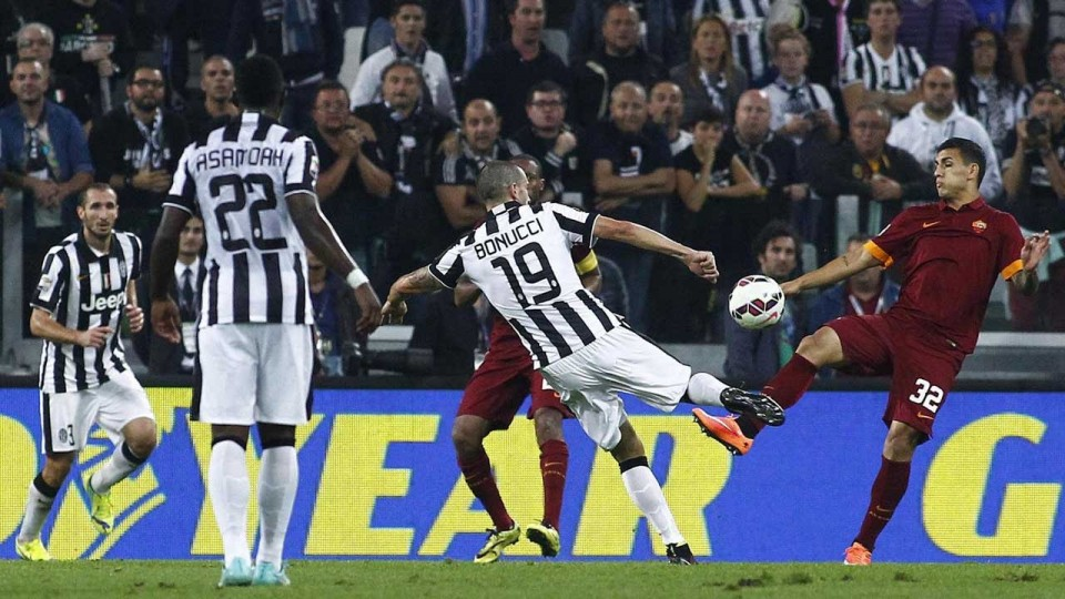 Juventus-Roma 3-2  5/10/2014  Highlights