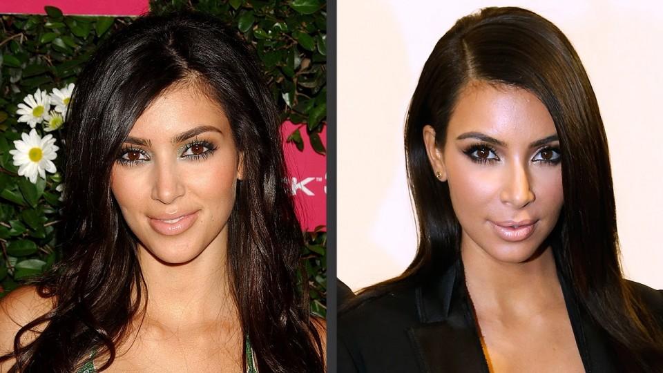 Kim Kardashian's Changing Looks! – PEOPLE