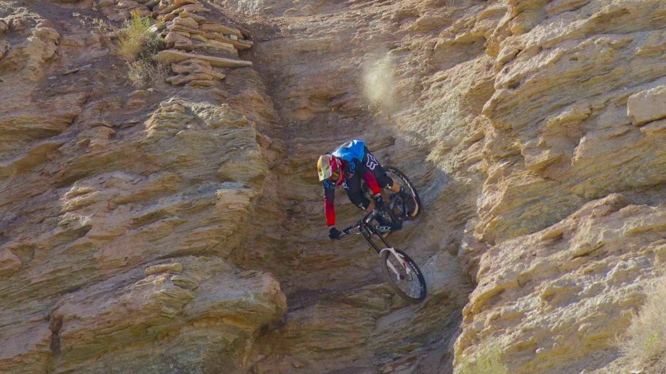 Kyle Strait's 4th Place MTB Run – Red Bull Rampage 2014
