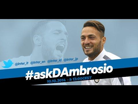 Live! #askDAmbrosio – chat in diretta con Danilo D'Ambrosio 10.10.2014