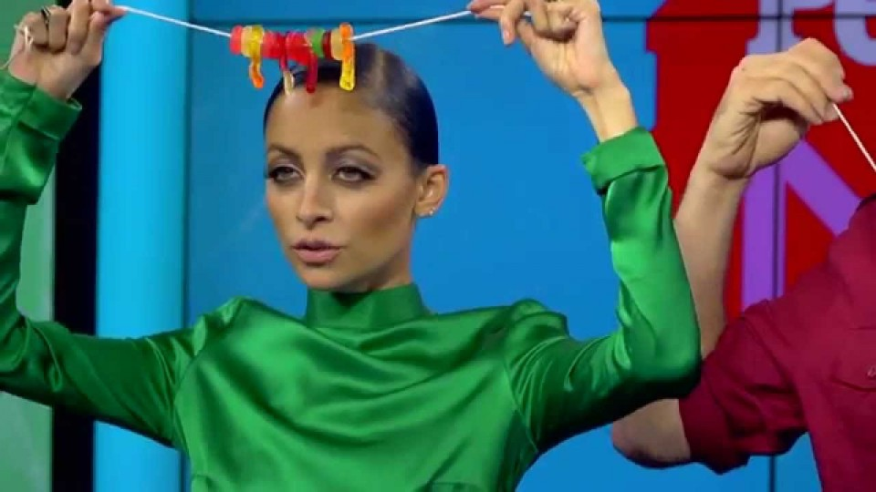PEOPLE Now: See Nicole Richie Rap…About Gummy Worms?