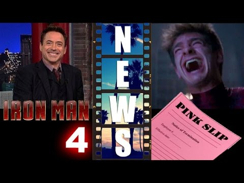 Robert Downey Jr confirms Iron Man 4?! Andrew Garfield out as Spider-Man?! – Beyond The Trailer