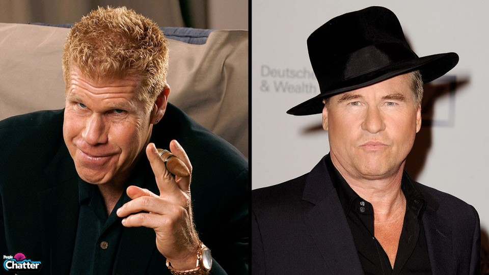 Ron Perlman Loves Free Cigars, Swearing and Kisses From Val Kilmer – PEOPLE