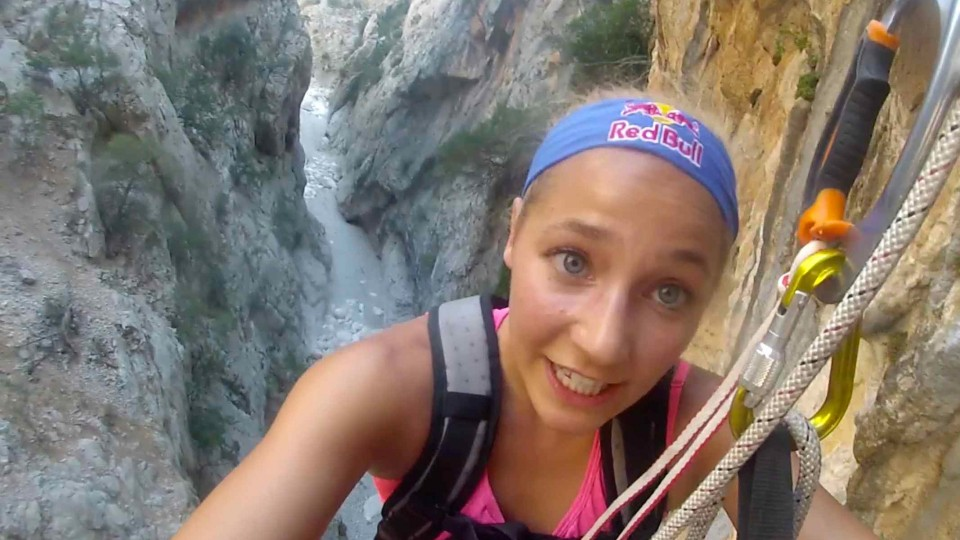 Sport Climbing with Sasha DiGiulian on Viaje de los Locos