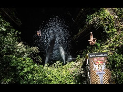 The Eye of a Cliff Diver – Red Bull Cliff Diving World Series