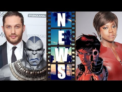 Tom Hardy as Apocalypse?! Viola Davis as Amanda Waller 2016?! – Beyond The Trailer
