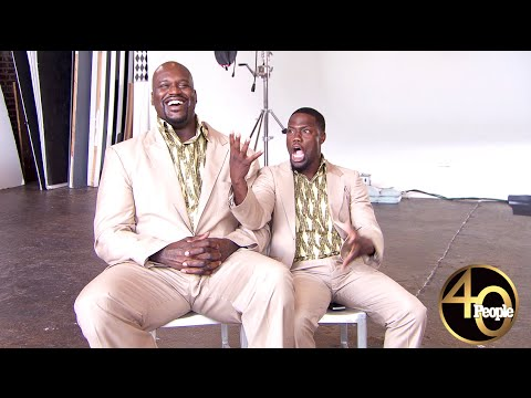 We Dare You Not to Laugh Seeing Shaq and Kevin Hart as Julius and Vincent from Twins – PEOPLE