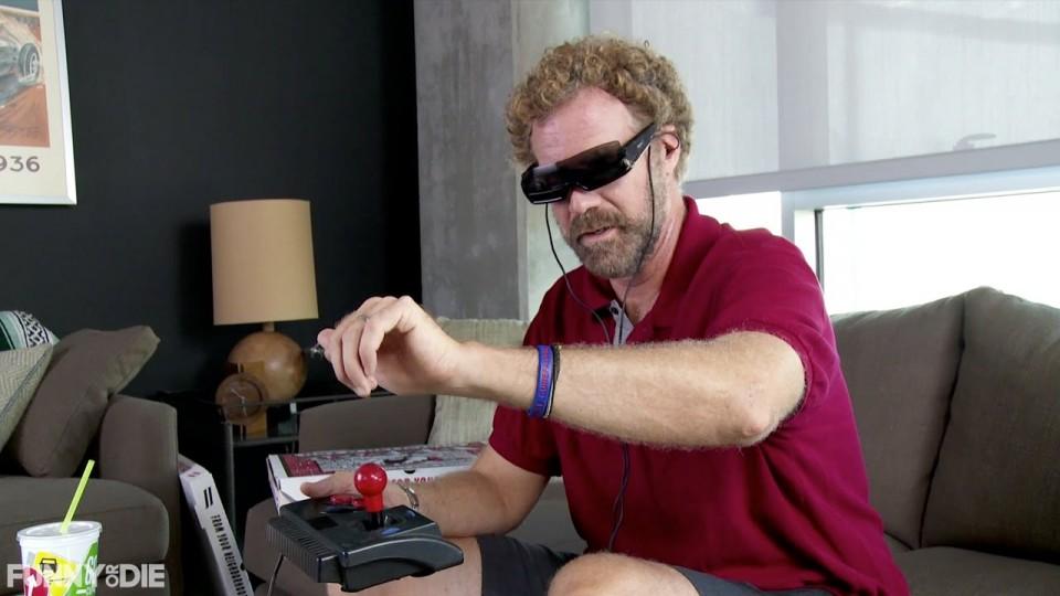 Will Ferrell vs. Virtual Reality