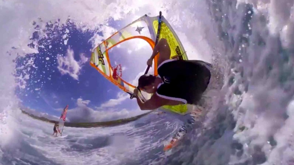 360° Panoramic Windsurfing – Jason Polakow Chronicles