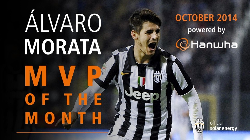 Alvaro Morata's goals and skills October 2014 – MVP of the month powered by Hanwha