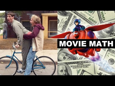 Box Office for Dumb and Dumber 2, Big Hero 6, Interstellar, Mockingjay Part 1