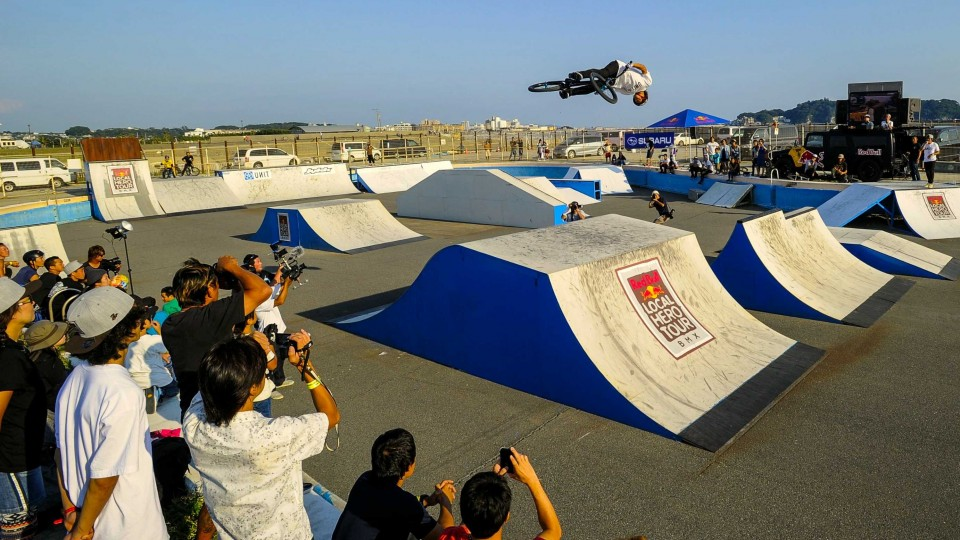 Bringing BMX to Japan's Future Pros – Red Bull Local Hero Tour