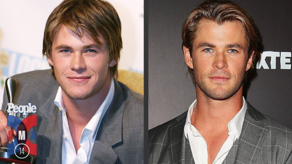 Chris Hemsworth's Evolution of Looks | Sexiest Man Alive 2014 | PEOPLE
