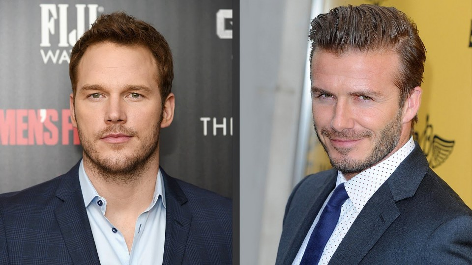 Chris Pratt, David Beckham & 98 Other Sexy Smiles | 2014 Sexiest Man Alive | PEOPLE