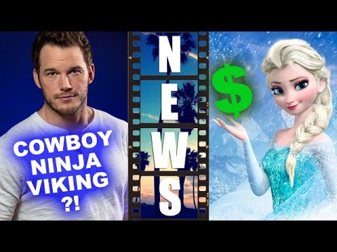 Chris Pratt for Cowboy Ninja Viking! Frozen Disney on Ice and Toys Dominate! – Beyond The Trailer