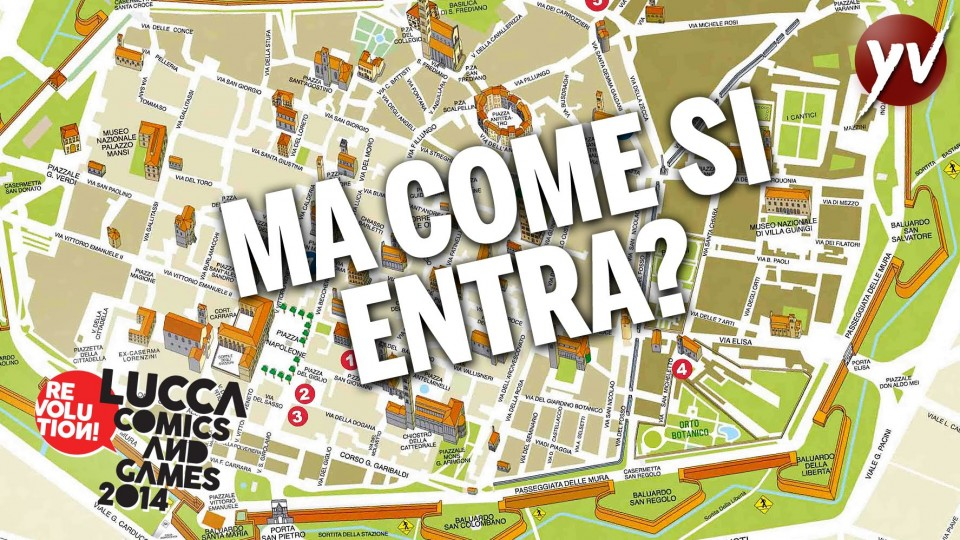 Come entrare al Lucca Comics & Games 2014 | Yamato Animation