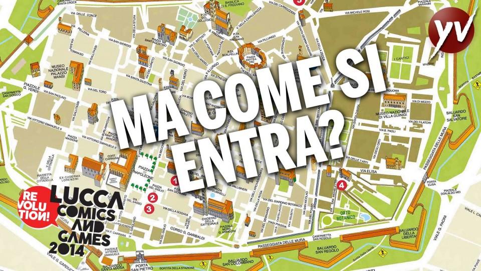 Come entrare al Lucca Comics & Games 2014 | Yamato Animation