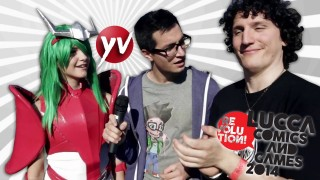 Come importunare i cosplayer (con Alcedo Video) – Lucca Comics & Games 2014 | Yamato Animation