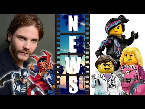 Daniel Bruhl joins Captain America 3 Civil War, Lego Movie 2 female characters! – Beyond The Trailer