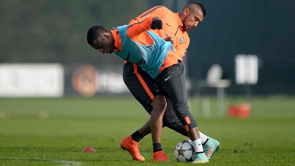 Dopo Lazio-Juventus, allenamento di fronte ai tifosi – Open training session after Lazio v Juventus