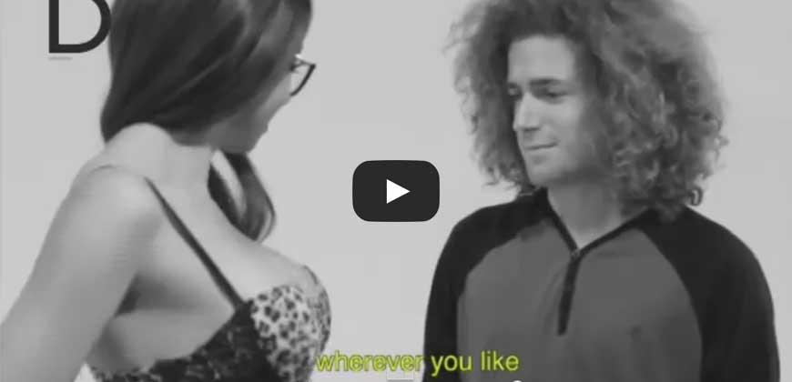 Esperimento sociale, Quando persone comuni toccano le pornostar
