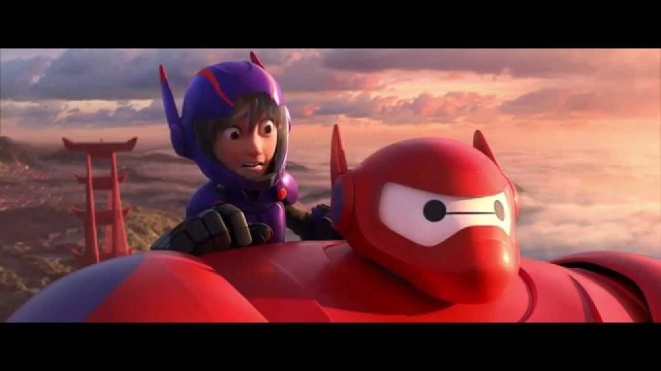 """First Flight"" Clip – Big Hero 6"