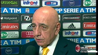 "Galliani: ""Guardiamo con fiducia al futuro"" 