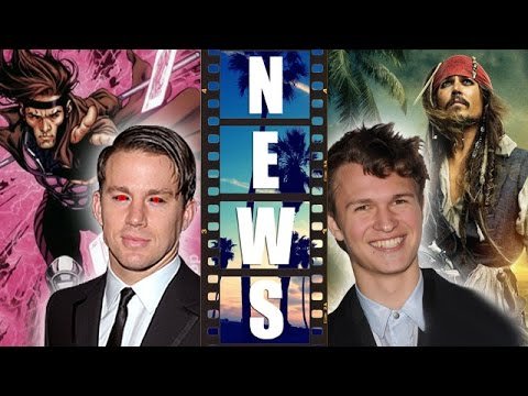 Gambit Movie with Channing Tatum, Ansel Elgort in Pirates of the Caribbean 5?! – Beyond The Trailer