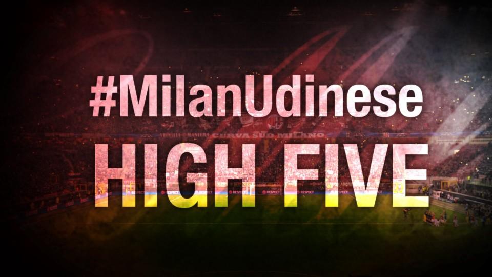 High Five #MilanUdinese   AC Milan Official
