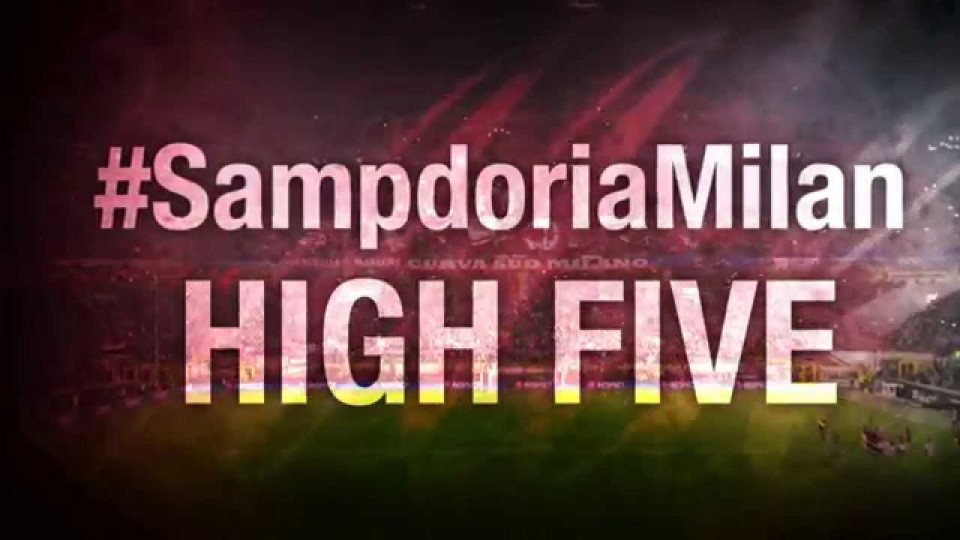 High Five #SampdoriaMilan | AC Milan Official
