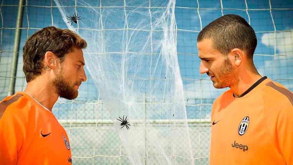Juventus Halloween Challenge: Spider Shot