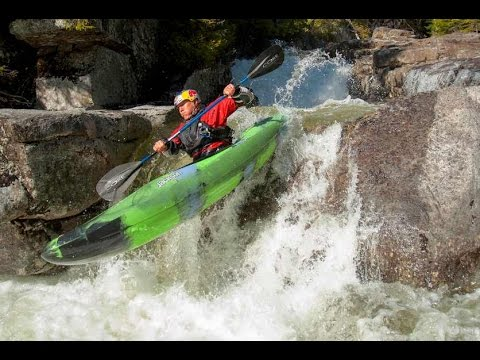 Kayaking the Hanging Spear Waterfall – Headwaters of the Hudson