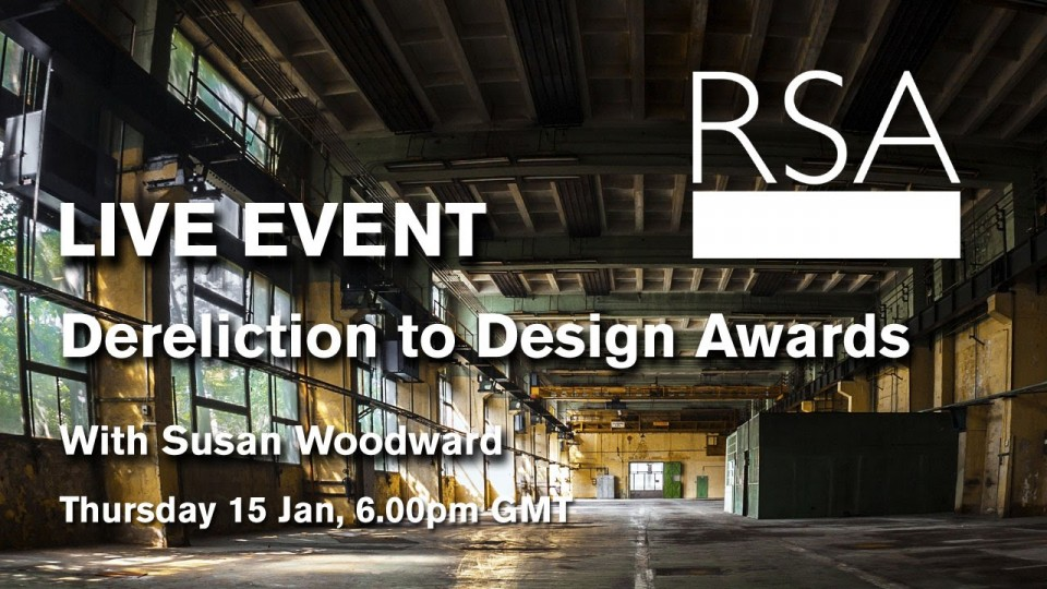 LIVE EVENT: Dereliction to Design Awards