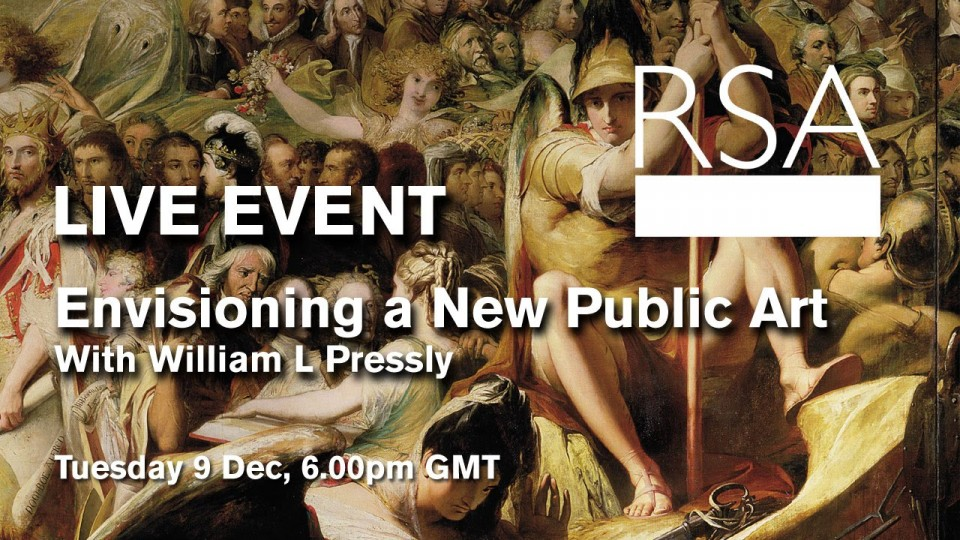 LIVE EVENT: Envisioning a New Public Art