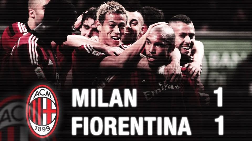 Milan-Fiorentina 1-1 Highlights | AC Milan Official