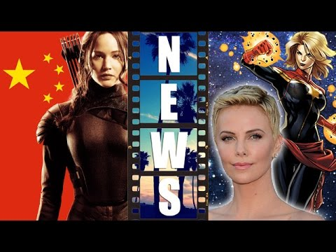 Mockingjay Part 1 vs China, Charlize Theron ideal Captain Marvel 2018! – Beyond The Trailer