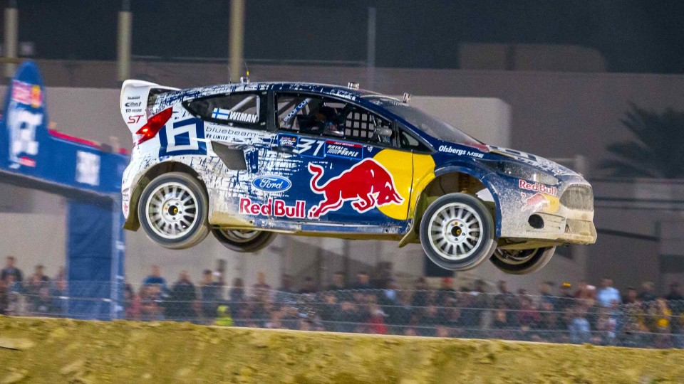 Rallycross Rookie Driver Wins the Championship – Red Bull Global Rallycross 2014