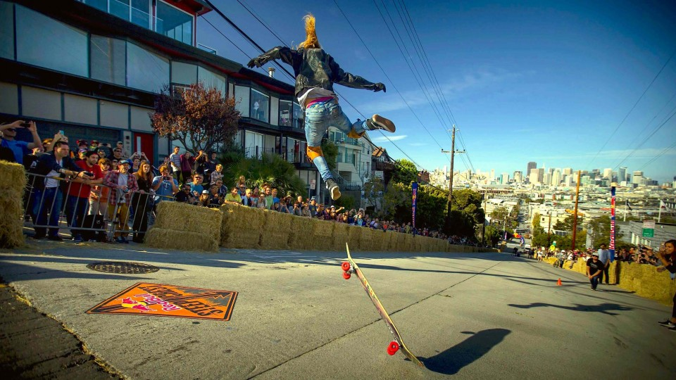 Skate and BMX Crashes from Red Bull Steep Crest 2014