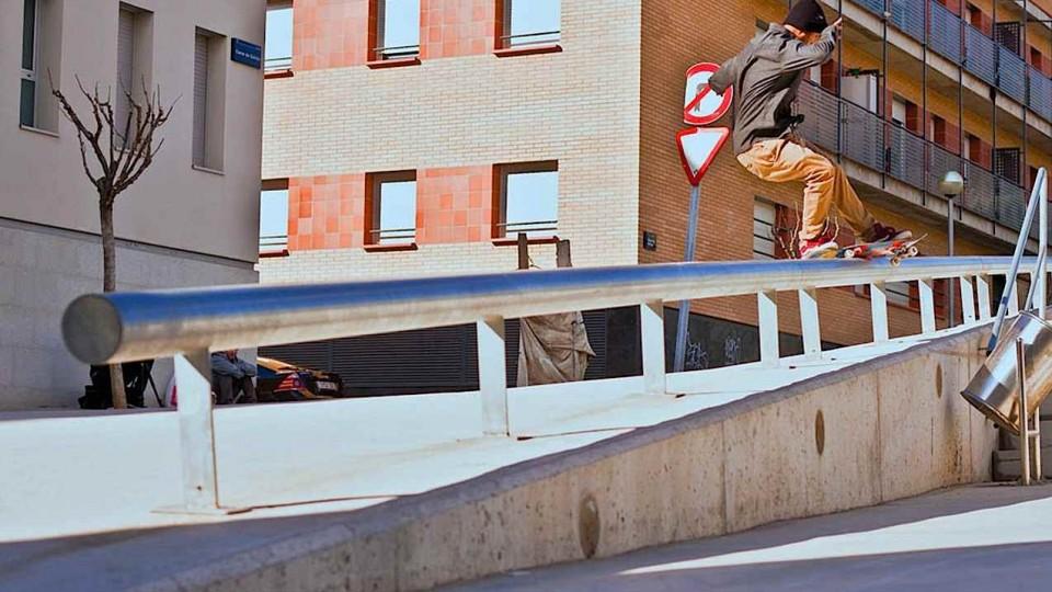 Skating Perfect Ledges and Big Gaps with Ignacio Morata