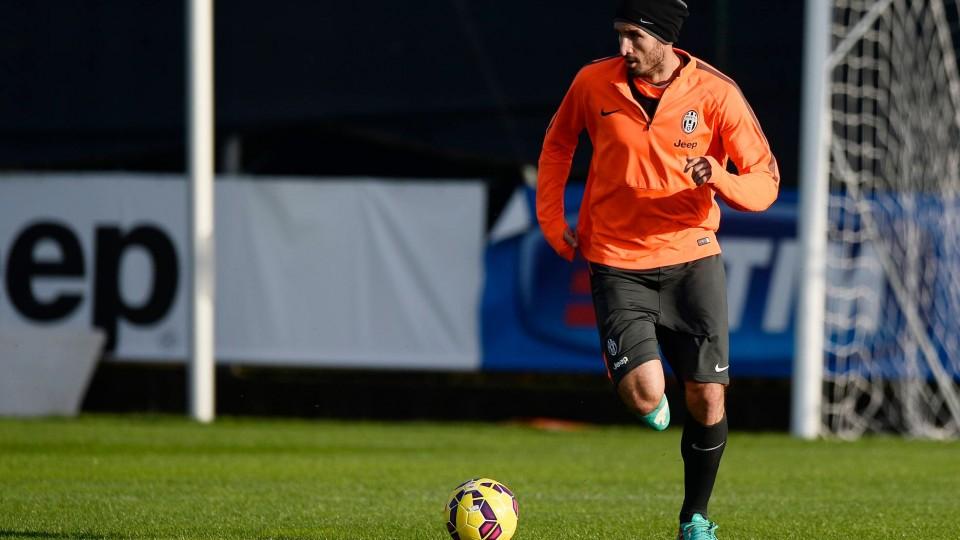 Tre giorni a Lazio-Juve: l'allenamento a Vinovo – Three-day countdown to Lazio: training in Vinovo