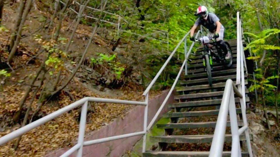 Urban Downhill Mountain Biking with Filip Polc