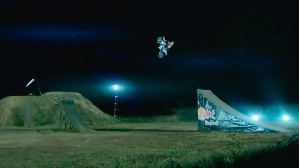 What it's like to Backflip 35m on a Dirt Bike