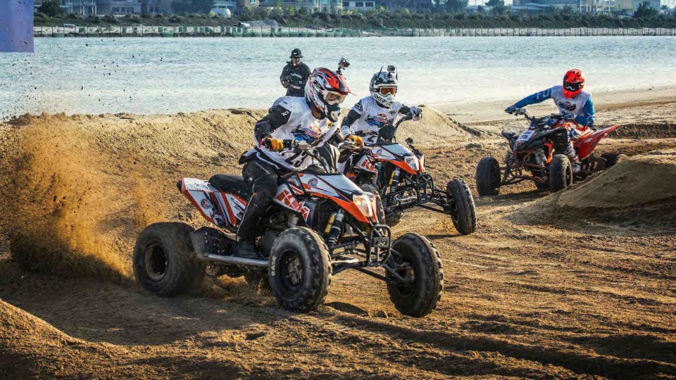 Adventure Relay Race with Quads and Jet Skis – Red Bull Bar Bahr