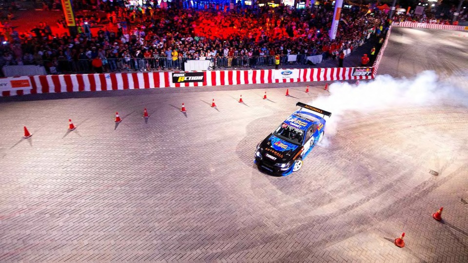 Ahmad Daham's Winning Drift Racing Run – Red Bull Car Park Drift Grand Final 2014