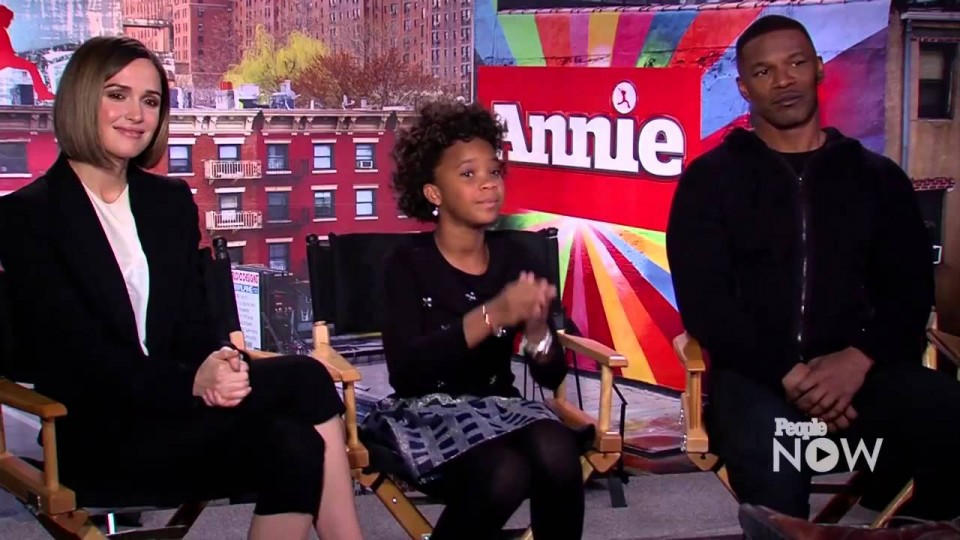 Annie's Jamie Foxx and Quvenzhané Wallis Take Our Costar Challenge | PEOPLE Now
