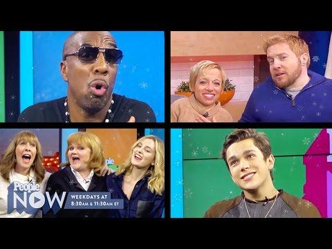 Austin Mahone, Jesse James Decker & More Stars Sing 'Let It Snow' | PEOPLE Now