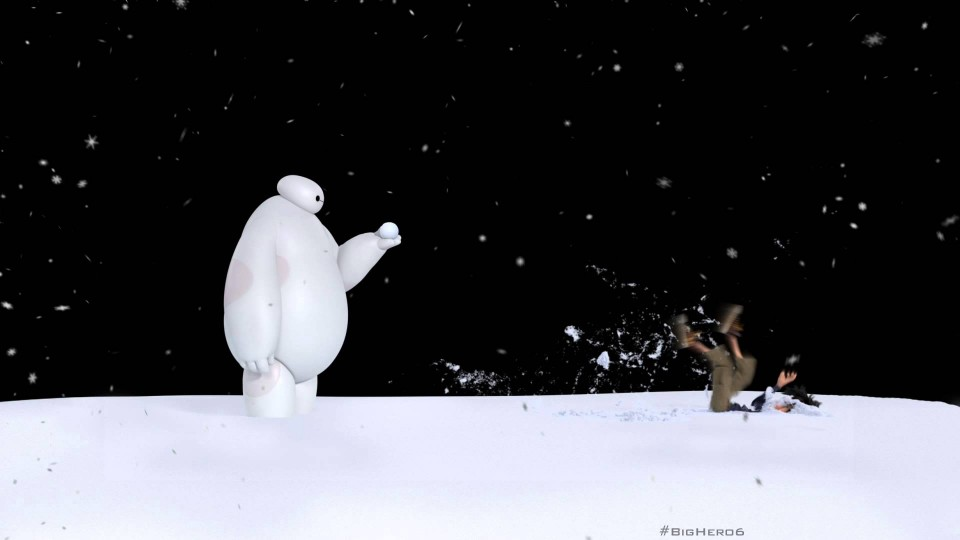 Baymax vs. Snowball