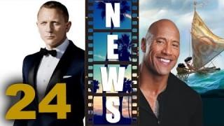 Bond 24 Press Conference, Dwayne Johnson for Disney's Moana 2016 – Beyond The Trailer