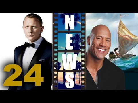 Bond 24 Press Conference, Dwayne Johnson for Disney's Moana 2016 – Beyond The Trailer