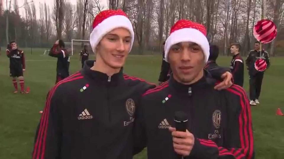 Buon Natale da tutto il settore giovanile rossonero | AC Milan Official